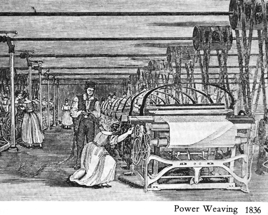 Textile industry industrial revolution