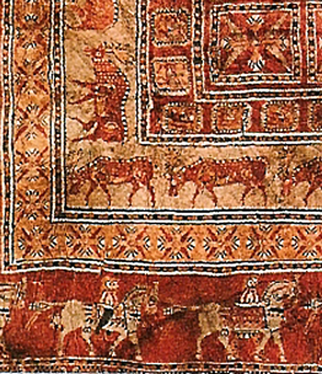 Textiles in the Early Medieval Period: 5th- 10th centuries